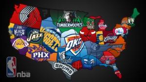 NBA Map