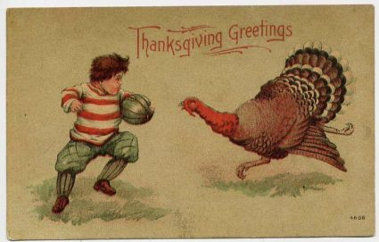 cartoon, kid and turkey