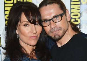 Kurt Sutter and wife Katey Sagal