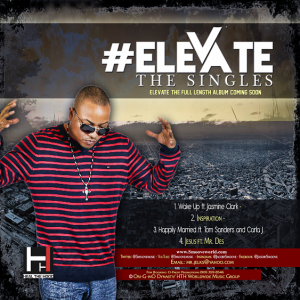 #Elevate - The Singles Back Cover
