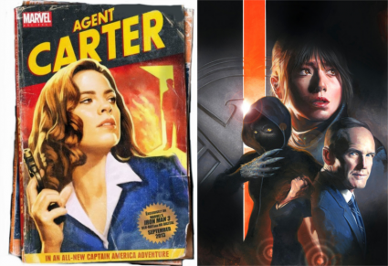 agent carter agents shield @ www.JPLimeProductions.com