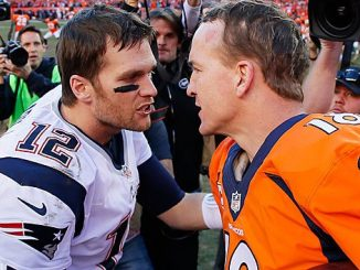 Brady-Manning after Patriots-Broncos game