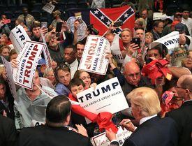 Trump Trump in South Carolina