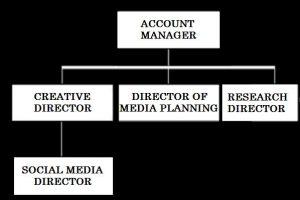 MT 747 - 21st Century Advertising - Week 8 - Tidal Account Team Org Chart