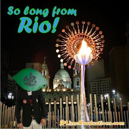 Limehead in Rio, So long from Rio