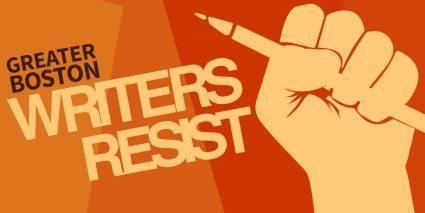 Writers Resist banner