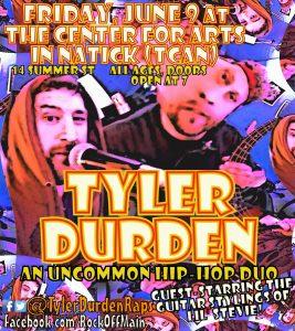 Tyler Durden at Rock Off Main
